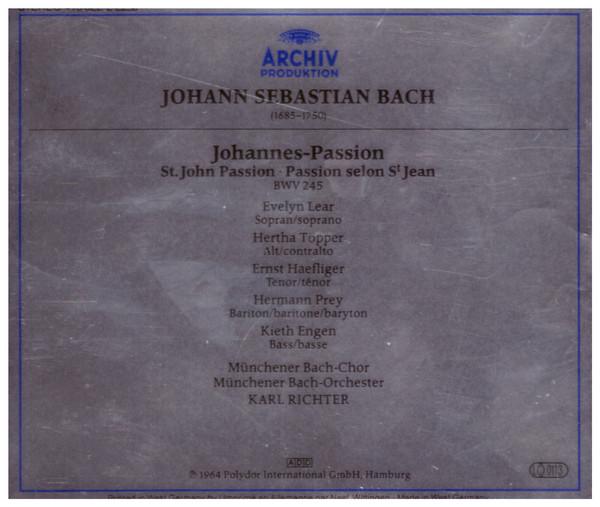 Karl Richter Munchener Bach Chor Munchener Bach Orchester Bach